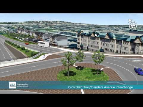 Crowchild Flanders Interchange Transportation Planning Study