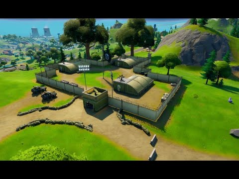 Visit Different E.G.O OutPosts - Fortnite Locations Fortnite Chapter 2 Season 1 Week 5 Challenges