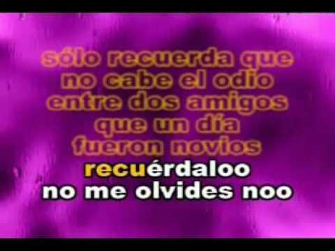 Jerry Rivera - Cuenta Conmigo 'KaraOke