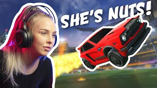 I hired e-girls in Rocket League and then pitted them against each other