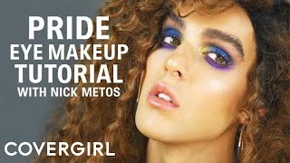 Pride Makeup Look: Colorful Eyeshadow Tutorial | COVERGIRL