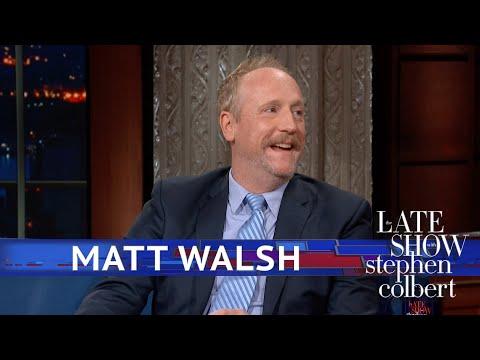 Matt Walsh Indulges Stephen's 'Veep' Obsession