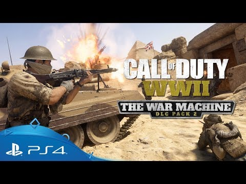 Paket prenosljive vsebine The War Machine | Call of Duty: WWII | PS4