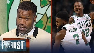 Stephen Jackson on Boston routing Bucks, Talks expectations for LeBron's Cavs | FIRST THINGS FIRST