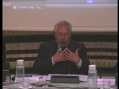 """On. Pier Paolo Baretta alla presentazione del libro """"il senso del gioco"""""""