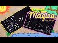 Pizarra mágica - Manualidad día del niño y la niña