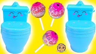 Pooparoos Squishy Toys with Surprise Water Blind Bags !  Cookie Swirl C Video