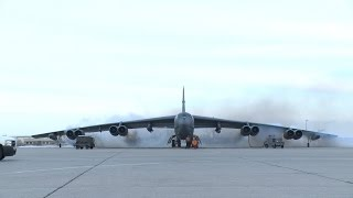 [HD] Mighty B52 Compilation! (cockpit view, bombing footage etc!)