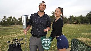 THE NIGHT SHIFT: teaching lana how to golf