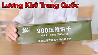 Lâm Vlog - Ăn Thử Lương Khô Quân Đội Việt Nam và Trung Quốc