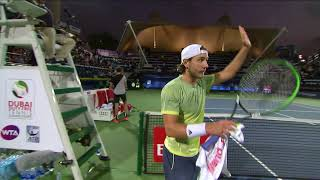 2018 ATP Day 3 Highlights: Bautista Agut Advances, Baghdatis Bows Out