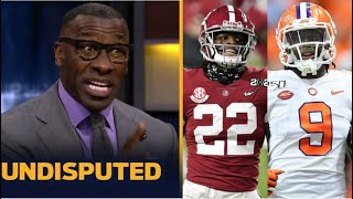 UNDISPUTED | Shannon reacts to Najee Harris & Travis Etienne get drafted back-to-back near end Rd 1