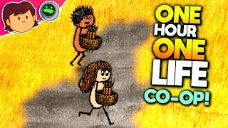 TWO PLAYER CO-OP! CAN WE SURVIVE? | One Hour One Life CO-OP Mode | Tough Life Simulator Gameplay