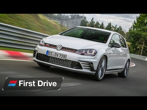 Volkswagen Golf GTI Clubsport S first drive review: flat-out at the Nürburgring