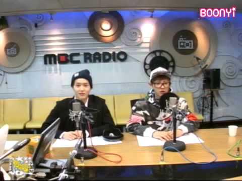 EXO - 130916 Younha's Starry Night Radio (eng subbed)