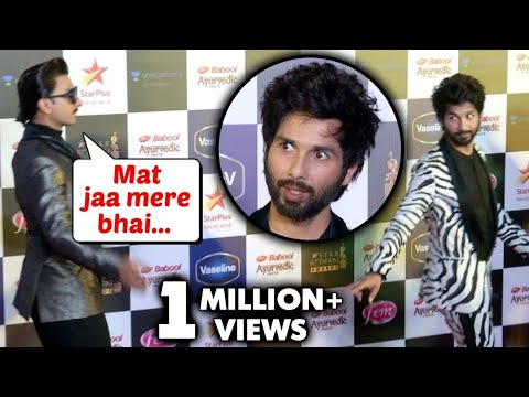 Angry Shahid Kapoor walks out as Ranveer wins award for Gully Boy