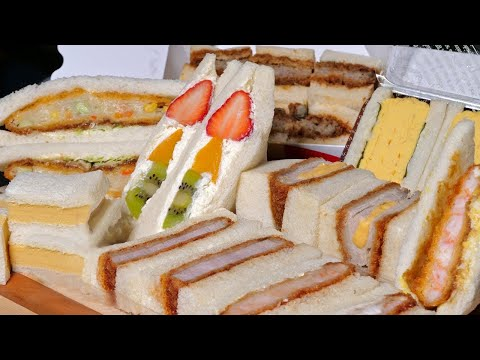 Japanese Sandwiches, better than Sushi or Ramen?  ★ ONLY in JAPAN