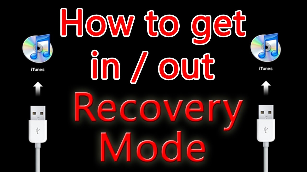 how to get your iphone out of headphone mode how to get in and out of recovery mode iphone ipod 21372