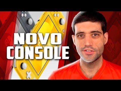 Novo console da geração oficialmente anunciado, Nintendo Switch Lite