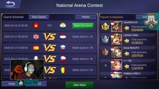 National Arena - PH vs. Indonesia   Just ML Zeus