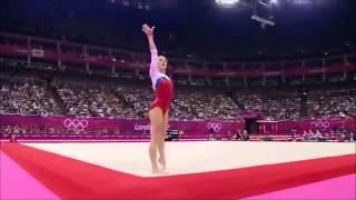 Gymnastics Artistic - Ksenia Afanasyeva (Russia) Floor Exercise 2012 London Olympics
