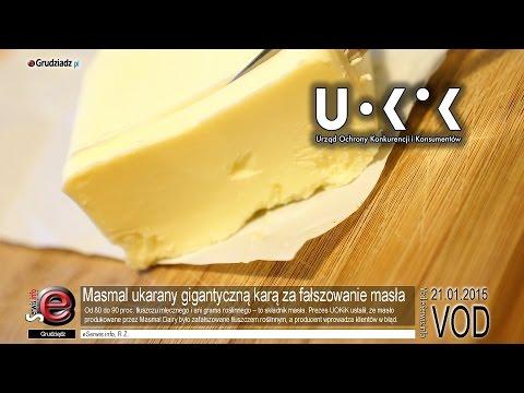 Masmal ukarany gigantyczną karą za fałszowanie masła