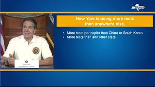 Governor Cuomo Delivers Update on COVID-19