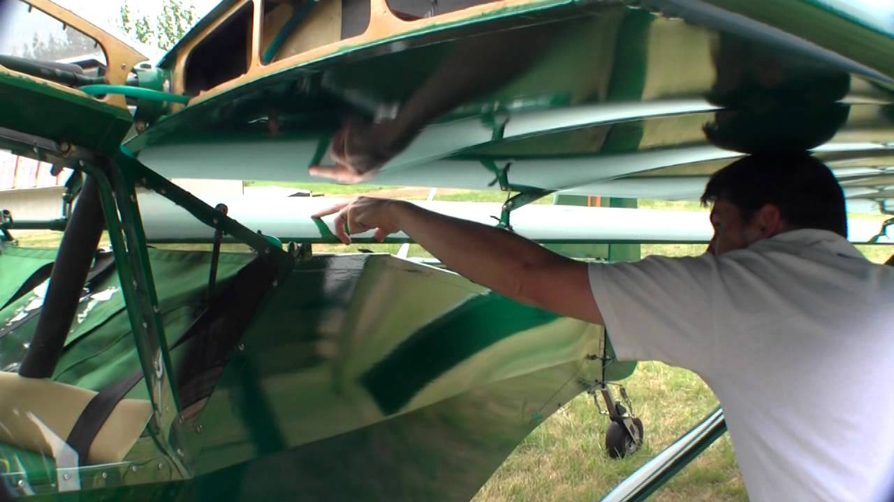 How To Fold Kitfox Aircraft Wings Folding Wing