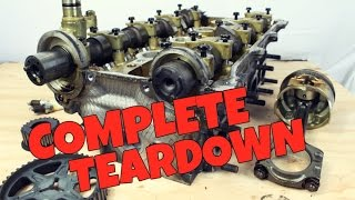 The ULTIMATE Guide To Disassembling A Miata Engine! (Rebirth Ep8)