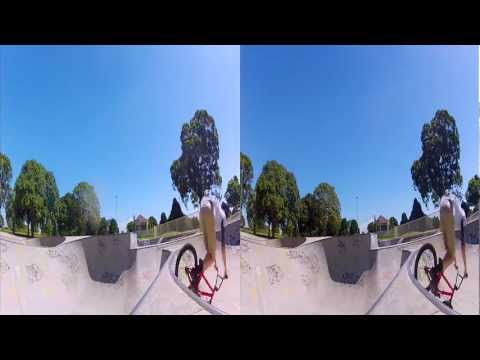 3D GoPro Hero2 BMX - Five Dock Bowl in 3D