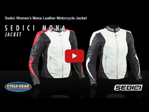 SEDICI - Women's Mona Leather Motorcycle Jacket Official Product Overview at Cycle Gear