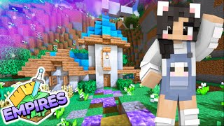 💙A NEW WORLD! Empires SMP Ep.1 [Minecraft 1.17 Let's Play]