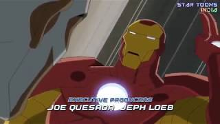 Avengers Asembel cartoon (episode 2) part 1  ghost of the chance bye Avengers all in Hindi
