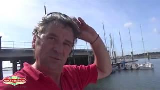 Remise à l'eau du Maxi80 Prince de Bretagne