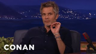 Timothy Olyphant's Secret For Being Happy No Matter Where You Are  - CONAN on TBS
