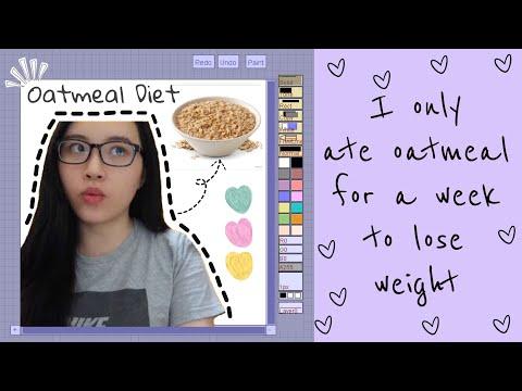 I TRIED EATING OATMEAL FOR A WEEK AKA VERSATILE VICKY OATMEAL DIET PLAN