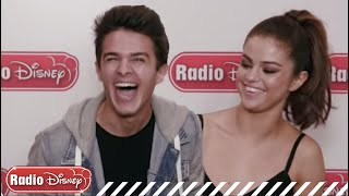 Selena Gomez and Brent Rivera - Who is a Better Bad Liar? | Radio Disney