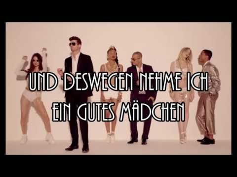 Baixar Robin Thicke feat. Pharrel Williams - Blurred Lines (Deutsche Übersetzung)