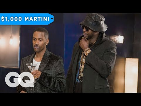 2 Chainz & Big Sean Drink 100,000 Diamond-Infused Vodka