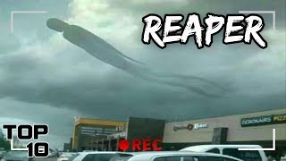 Top 10 Scary Phenomenon Caught In The Sky On Camera