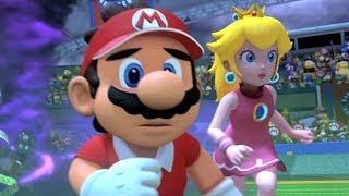 Mario Tennis Aces - Adventure Mode Walkthrough Part 1 - Piranha Plant Forest