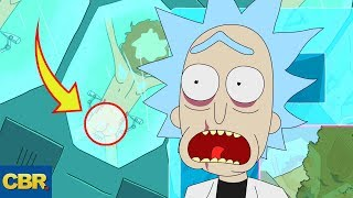 10 DARK SECRETS Rick And Morty Couldn't Keep Hidden