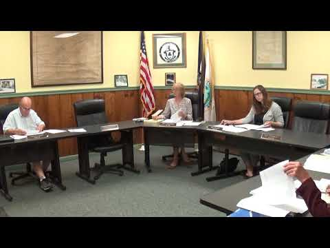 Champlain Village Board Meeting  6-14-21