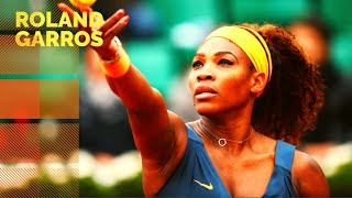 Serena Williams vs Roberta Vinci - 2013 French Open R4 Highlights