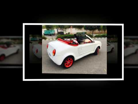 Modified and convertible Maruti 800 Sports Car