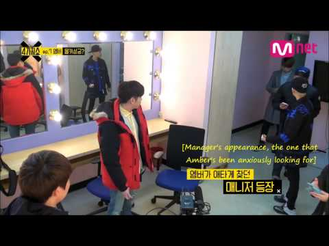 F(x) Amber's Hidden Camera [with Eric Nam] - English Subs