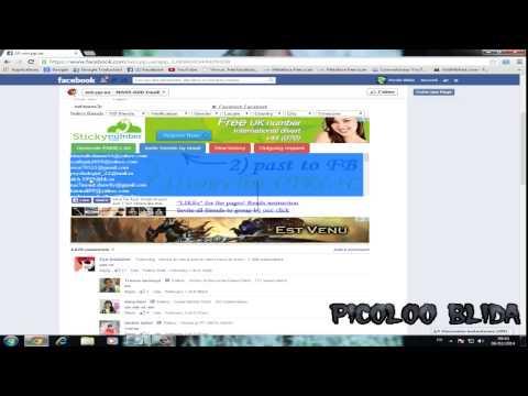 الحلقة 23: زيادة اصدقاء فيس بوك 2014 By PiCOlo