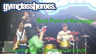 Gym Class Heroes - Best Part of Revenge LIVE @ Penn's Landing Festival Pier 8/10/18