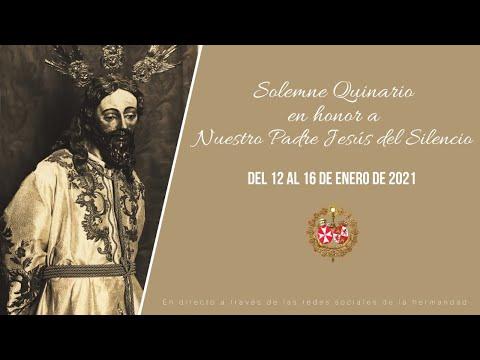 Solemne Quinario en honor a Nuestro Padre Jesús del Silencio - Jueves 14 de Enero
