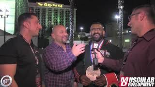 The People's Champion Hadi Choopan Interview! | 2019 Mr. Olympia